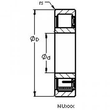 Подшипник NU316 EMA AST